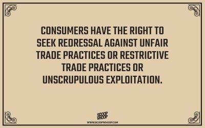 Right to Redressal